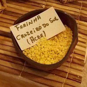 Farinha Cruzeiro do Sul mais rústica. (Foto: Rachel Bonino)