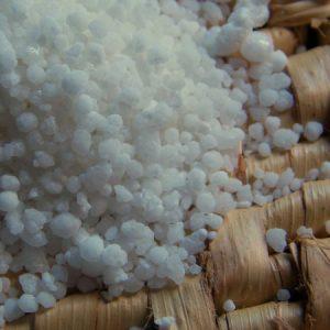 Farinha de tapioca dura, quebradinha.  (Foto: Rachel Bonino)