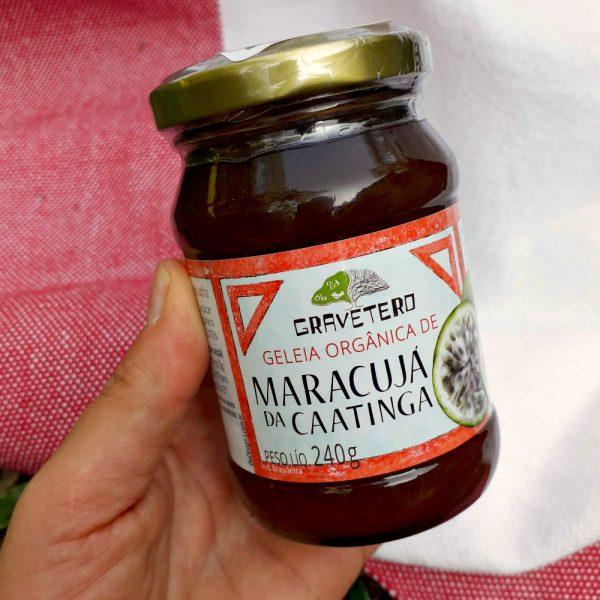 Geleia de maracujá da caatinga (240g), da Coopercuc (@coopercuc_gravetero/ ), de Canudos, Uauá e Curaçá/BA